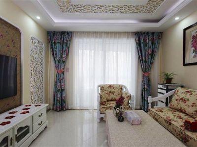 田园风格-111.09平米三居室装修样板间