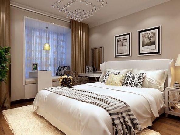 卧室作为人休息的地方,自然是最放松的区域,自然要惬意一些