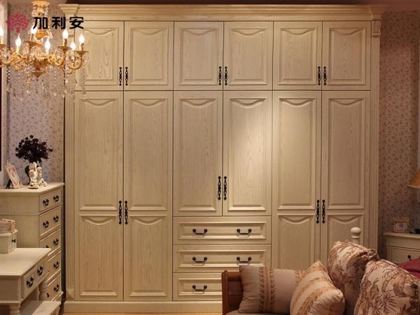 加利安欧式大衣柜 整体实木大衣柜全屋定制