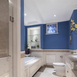 欧美风情五居室卫生间装修效果图