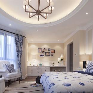 欧美风情五居室卧室装修效果图