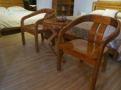 金思达家具A105白蜡木实木休闲台