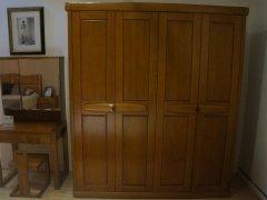 金思达家具A0330白蜡木实木四门衣柜