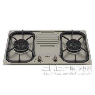 CHEF 厨师电器 FF20M 嵌入式 灶具 煤气灶 进口