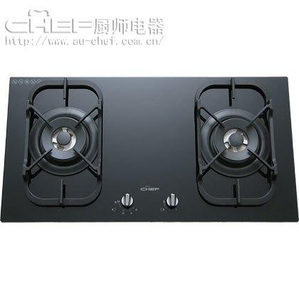 CHEF 厨师电器 大火力 家用 燃气灶 灶具 进口 嵌入式