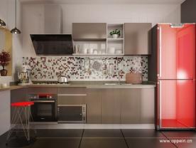 現代風格整體廚房