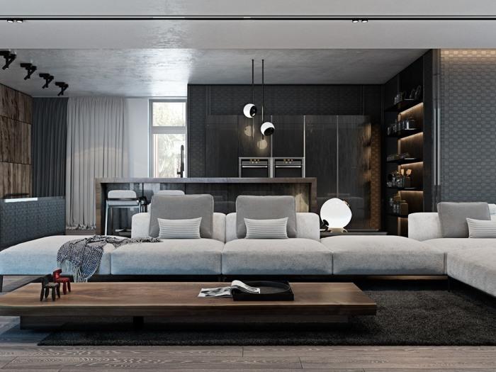 现代简约-150平米别墅-装修样板间