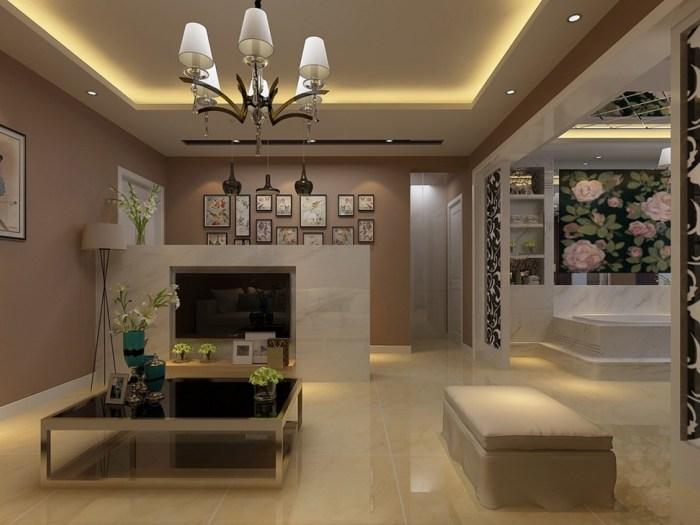 现代简约-60平米一居室-装修样板间