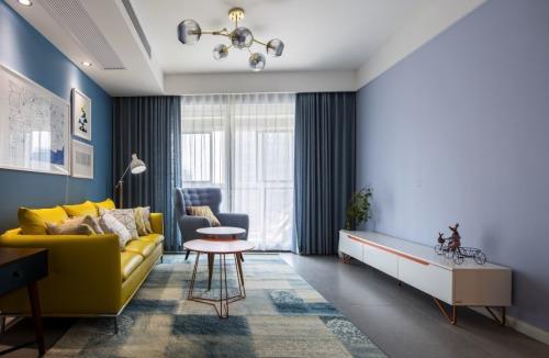 晋阳·峰�Z、现代北欧风格、三室两厅一卫