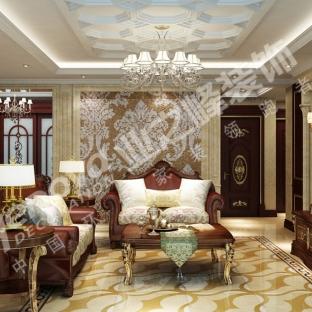 新古典风格三居室装修效果图