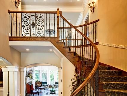 欧式风格别墅楼梯图片