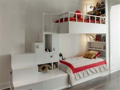 现代简约-88平米二居室装修设计