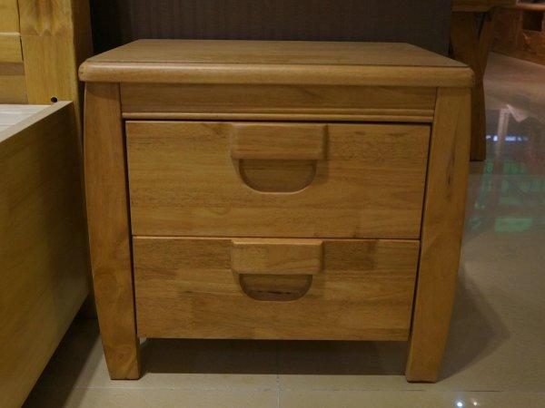 金思达家具15橡木实木床头柜