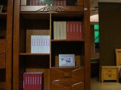金思达家具202橡木实木二门书柜