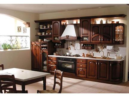 橙子屋全屋定制整体实木橱柜欧式厨房可定做