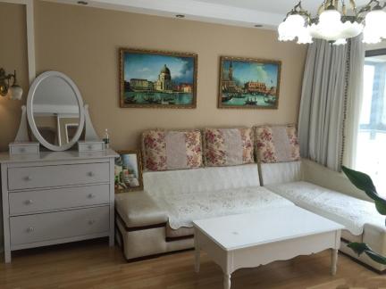 时尚简欧风格三室一厅客厅装修效果图
