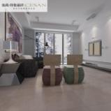 塞尚瓷砖仿古亚光砖阳台客厅卧室防滑地砖云多拉灰YS66306图片