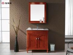 加利安 浴室柜定制实木定做 全屋定制 厂家直销E0级环保