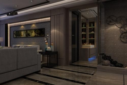 阳光·汾河湾206平米现代港式风格设计