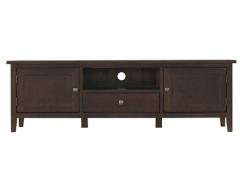 丹佛山庄 红橡木纯实木电视柜1.6米电视柜