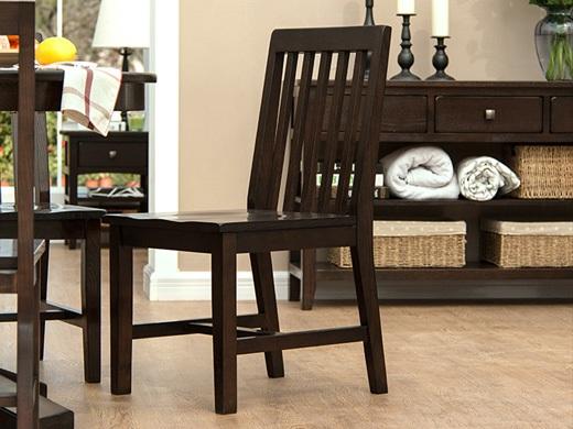 丹佛山庄 红橡木纯实木 餐椅 办公椅