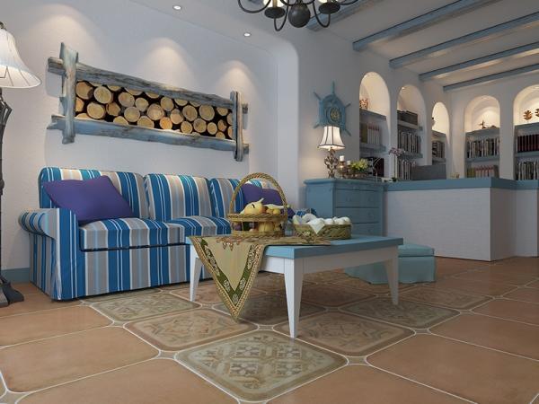 塞尚印象仿古客厅卧室卫生间复古欧式防滑地砖CJ54980
