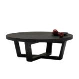 LIGNRUE 圆形方形茶几桌客厅边桌胡桃木实木现代简约茶桌图片