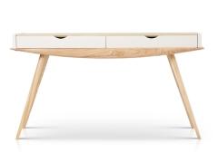 泊系列 现代简约1.4米带抽屉桌案
