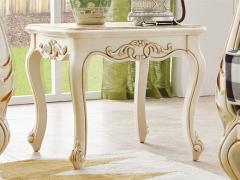 艾美系列 小美式白色客厅茶几YSJZ831-001方几