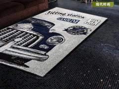 SYDT机织地毯系列 现代时尚泼墨机织地毯SYDT001