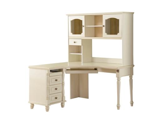 艾美系列 小美式白色书桌YSJZ869