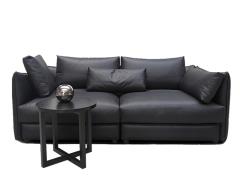 LIGNRUE北欧现代简约皮艺沙发组合三人现代小户型客厅家具