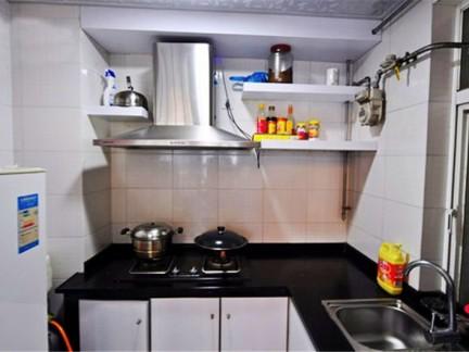 无烟厨房灶台装修效果图图片