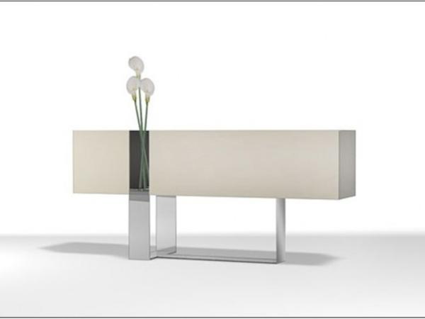 LIGNRUE客厅餐边柜储物柜玄关柜现代简约门厅柜隔断柜家具