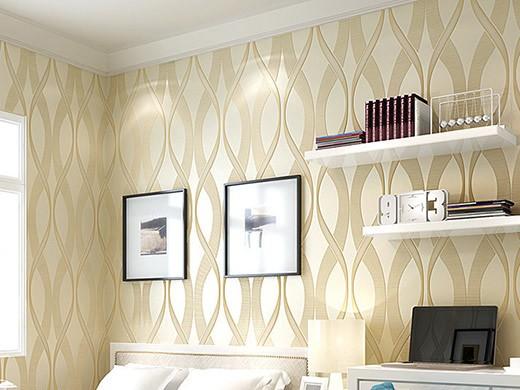 GZSBR墙纸系列 3D立体花纹现代简约无纺布墙纸