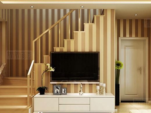 GZSBR墙纸系列 3D立体条纹现代简约无纺布墙纸