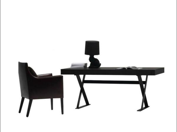 LIGNRUE电脑桌书桌椅组合实木简约现代学习桌办公桌写字桌