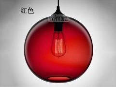 ZSBY吊灯系列 新款爱迪生复古玻璃吊灯