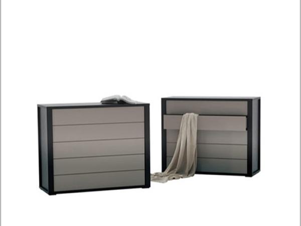 LIGNRUE五斗柜床头柜实木简约现代欧式卧室抽屉储物柜家具
