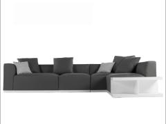 LIGNRUE 韩式布艺沙发组合转角可拆洗 简约现代大小户型