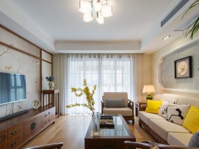 中式古典-131.21平米三居室装修样板间