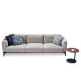 LIGNRUE 三人座沙发简约现代大小户型客厅布艺沙发家具图片