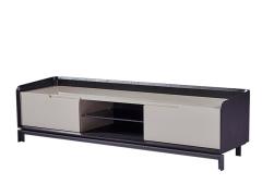 LIGNRUE 实木宜家电视柜现代中式烤漆地柜电视桌子储物柜