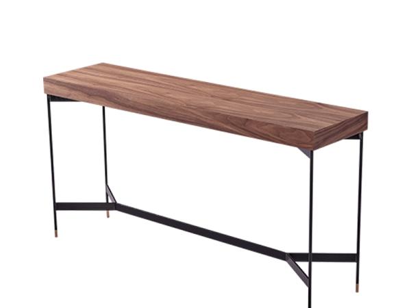 LIGNRUE 玄关桌北欧原木后现代工业客厅边桌北京家具定做