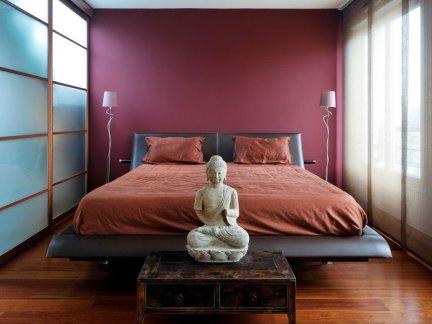 家装日韩风格三居室卧室装修效果图欣赏