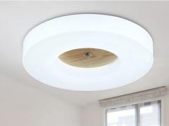 AJS吸顶灯 LED实木吸顶灯AJS001