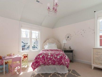甜美欧式风格复式儿童房装修效果图