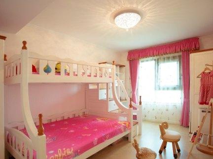 温馨现代风格儿童房上下床效果图大全