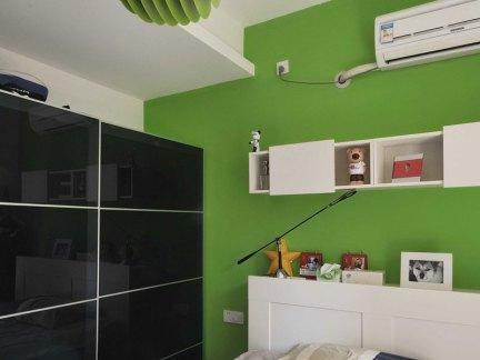 家装现代风格三居室儿童房装修效果图