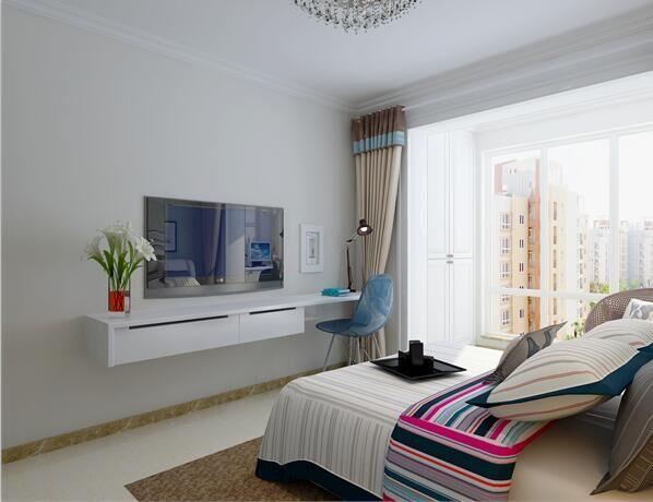现代简约-120平米三居室-装修样板间